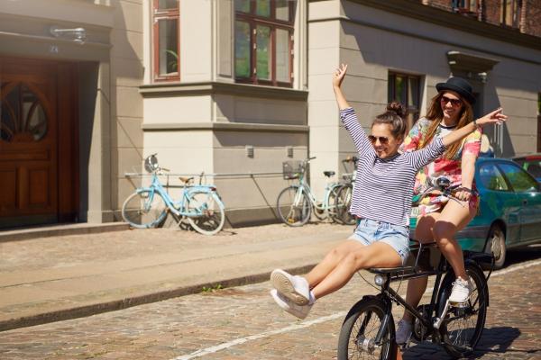 C'est si bon de rouler à vélo