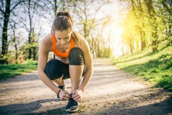 Jogging et coups de soleil