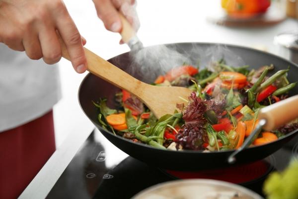 Cuisine au wok: vite fait