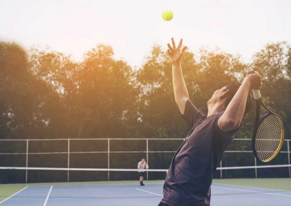 Du tennis à fond