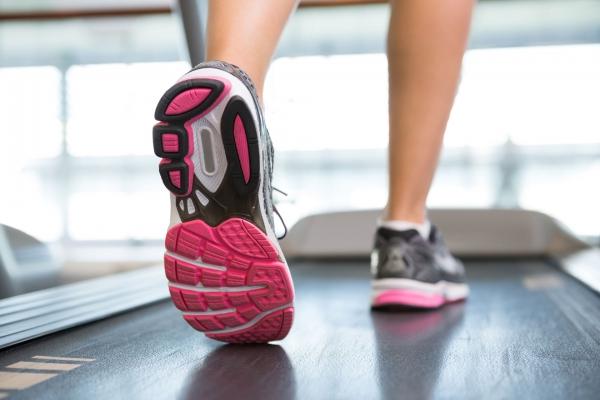 Jogging sur tapis roulant