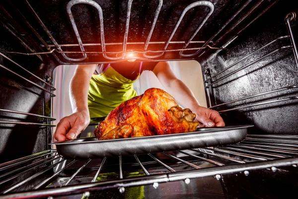 Papa s'est brûlé en cuisinant
